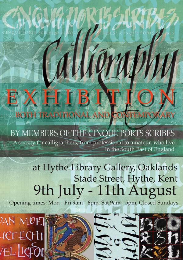 CPS Hythe Library 2015 Exhibition Poster